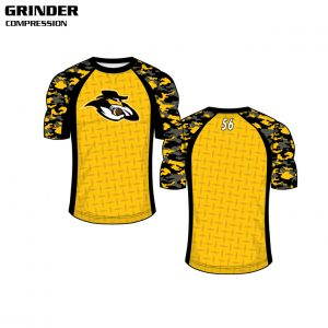 Custom Sublimated Compression Top
